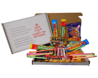 Revision Sweet Box - Ideal gift for a friend during exam time