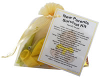 New Parents Survival Kit - A funny and diiferent gift idea