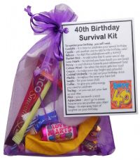 The Perfect Greetings Card Alternative! Retirement Survival Kit