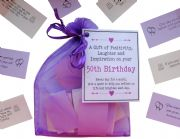 50th Birthday Quotes Gift of Positivity, Laughter and Inspiration. 31 Inspirational Messages for a Month. 50th Birthday Gift, 50th quotes