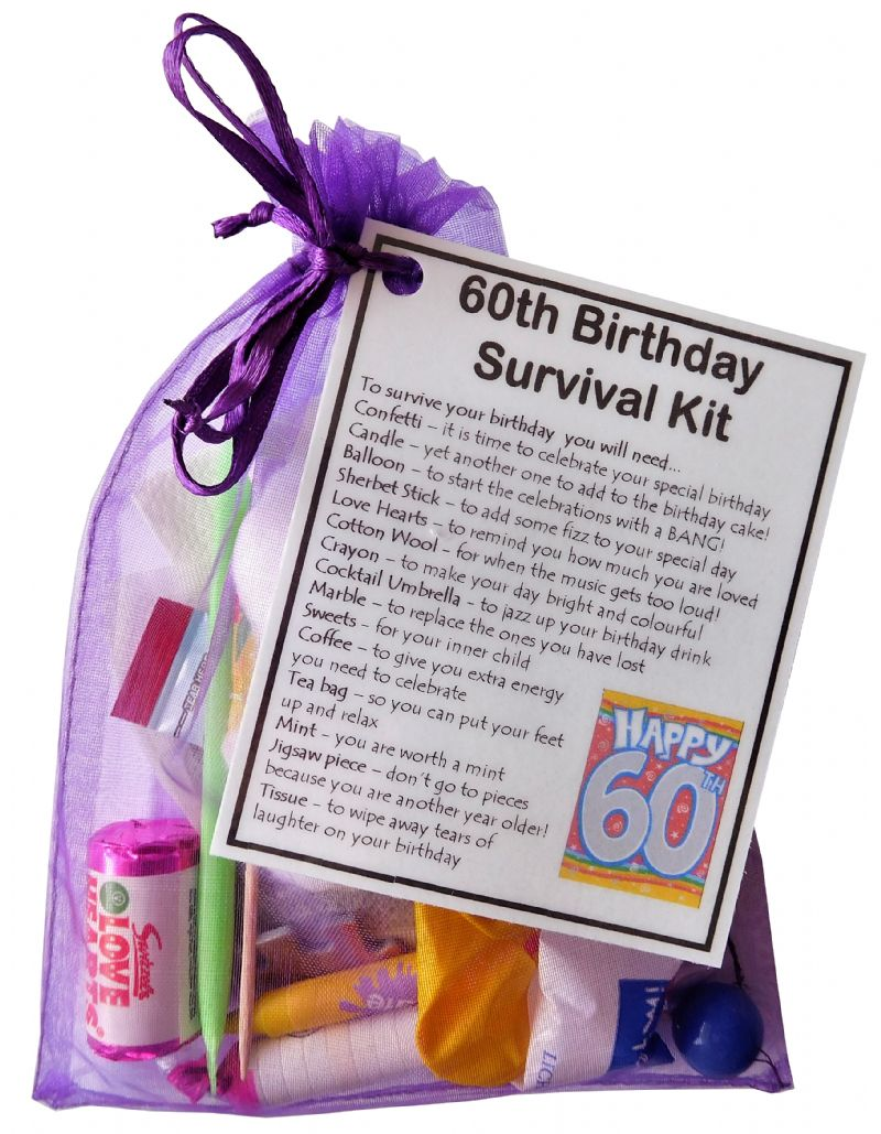 21st Birthday Survival Kit - A creative and unique birthday gift idea