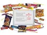 A-Level Results Congratulations Sweet Box-A great way to say well done