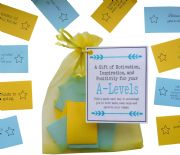 A-Levels Good Luck Exam Gift \/ Revision Gift  -Quote of Motivation, Inspiration, and  Positivity for your Exams