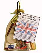 Army Wife Survival Kit  - Novelty Gift for Army Wife Gift