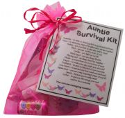 Auntie Survival Kit-Great present for Birthday, Christmas or just because?