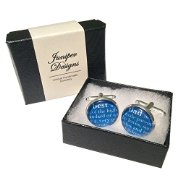 Best Dad Dictionary Style cufflinks - Great Birthday, Father's Day or Christmas gift -