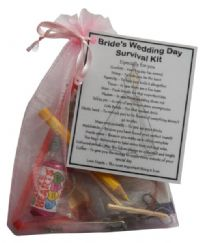 Bride's Wedding Survival Kit-A great gift for the Bride to Be