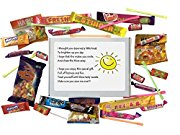 Cheer Up SWEET BOX gift for any occasion. Gift to cheer up a friend and say I'm thinking of you. -