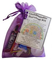 Childminder Survival Kit-A great small token gift to say thank you