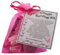 Cousin Survival Kit Gift-Great present for Birthday, Christmas or just because?