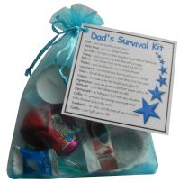 Dad's Survival Kit Gift-Great present for Birthday, Christmas or just because?