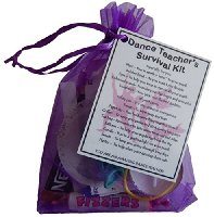 Dance Teacher Survival Kit Gift  - Great present for Christmas, end of year or just because...