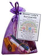 Dinner Lady Survival Kit Gift  - Great present for Christmas, end of year or just because...