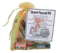Divorce Survival Kit Gift  - Small Novelty gift