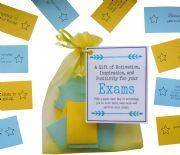 Exams Good Luck Exam Gift \/ Revision Gift  -Quote of Motivation, Inspiration, and  Positivity for your Exams