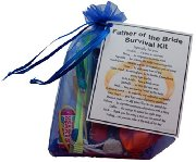 Father of the Bride Survival Kit  - Fun novelty gift
