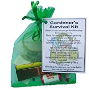 Gardener's Survival Kit Gift  - Small Novelty gift