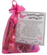 Goddaughter Survival Kit Gift  - Great present for Birthday, Christmas or Mothers Day