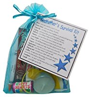 Godfather Survival Kit Gift  - Ideal gift for god father for birthday or Christmas. Godparent gift