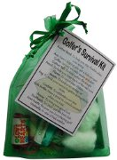 Golfer's Survival Kit Gift  - Small Novelty gift
