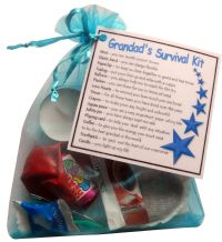 Grandad's Survival Kit Gift-Great present for Birthday, Christmas or just because?