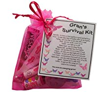 Gran's Survival Kit Gift  - Great present for Birthday, Christmas or Mothers Day