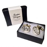 Handcrafted Sheet Music Cufflinks -