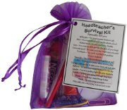 Headteacher Survival Kit Gift  - Great present for Christmas, end of year or just because...