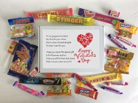 Husband Valentines Day Sweet Box - Great Valentine's Day Gift!