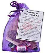 Knitter's Survival Kit Gift  - Small Novelty gift