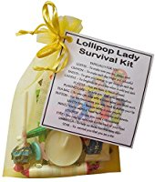 Lollipop Lady Survival Kit Gift  - Great present for Christmas, end of year or just because...