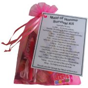 Maid of Honour Survival Kit Gift-A great sentimental gift for your Maid of Honour