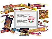 Merry Christmas BROTHER sweet box gift. Great Gift for Brother. Gift for Christmas. Stocking Filler. -