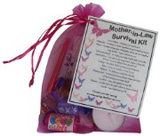 Mother-in-Law Survival Kit Gift  - Great present for Wedding, Birthday, Christmas or just because...