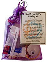 Music Teacher Survival Kit Gift  - Great present for Christmas, end of year or just because...
