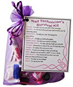 Nail Technician's Survival Kit - Great gift for a Nail Technician, Beauty therapist, manicurist