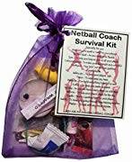 Netball Coach Survival Kit Gift  - Netball Coach gifts, gift for Netball Coach, thank you gift for Netball Coach gift