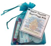 New Home Survival Kit Gift-An excellent alternative to a card