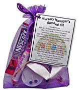 Nursery Manager Survival Kit Gift  - Great present for Christmas, end of year or just because...