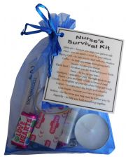 Nurse's Survival Kit-A great gift to thank your nurse