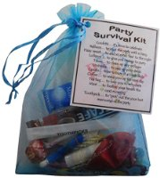 Party Survival Kit Gift  - Mini Novelty Gift or party favour