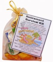 Retirement Survival Kit Gift-A great alternative to a card