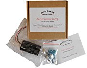 Self Assembly Audio Sensor Lamp Kit - Solder at home self solder electronics kits, diy electronics project kit, Melody Voice LED lights, sound activated LED, disco light, rhythm light