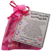 Sister-in-Law Survival Kit Gift - Great present for Wedding ...