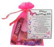 Sister Survival Kit-Great present for Birthday, Christmas or just because?