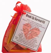 SMILE GIFTS UK Break-Up Survival Kit Gift  - Small Novelty gift for a break up, cheer up gift, divorce gift