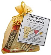 SMILE GIFTS UK Novelty Hangover Survival Kit Gift  - Party favour, birthday hangover gift, beer gift, drinking gift, stocking filler, secret santa, novelty hangover gift