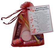 Soulmate Survival Kit Gift - Great novelty present for Birthday, Christmas, Anniversary or just because ...