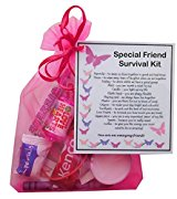 Special Friend Survival Kit Gift  - Special Friend Gift, Ideal birthday gift for Friend, excellent Friendship gift, Special friend present, present for special friend, Friend Gifts for Friend