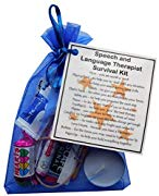 Speech and Language Therapist Survival Kit - Great gift for a Speech Therapist gift, Speech & Language Therapist Secret Santa
